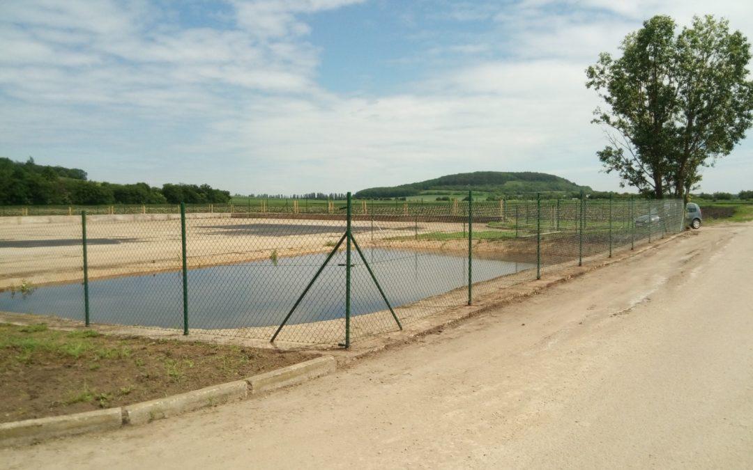 Rekonstrukce hnojného plata vPřerově nad Labem